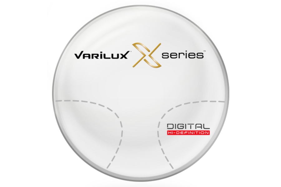 Varilux Varilux X Series™ Basic Plastic CR-39 Progressive Lenses in Varilux Varilux X Series™ Basic Plastic CR-39 Progressive Lenses